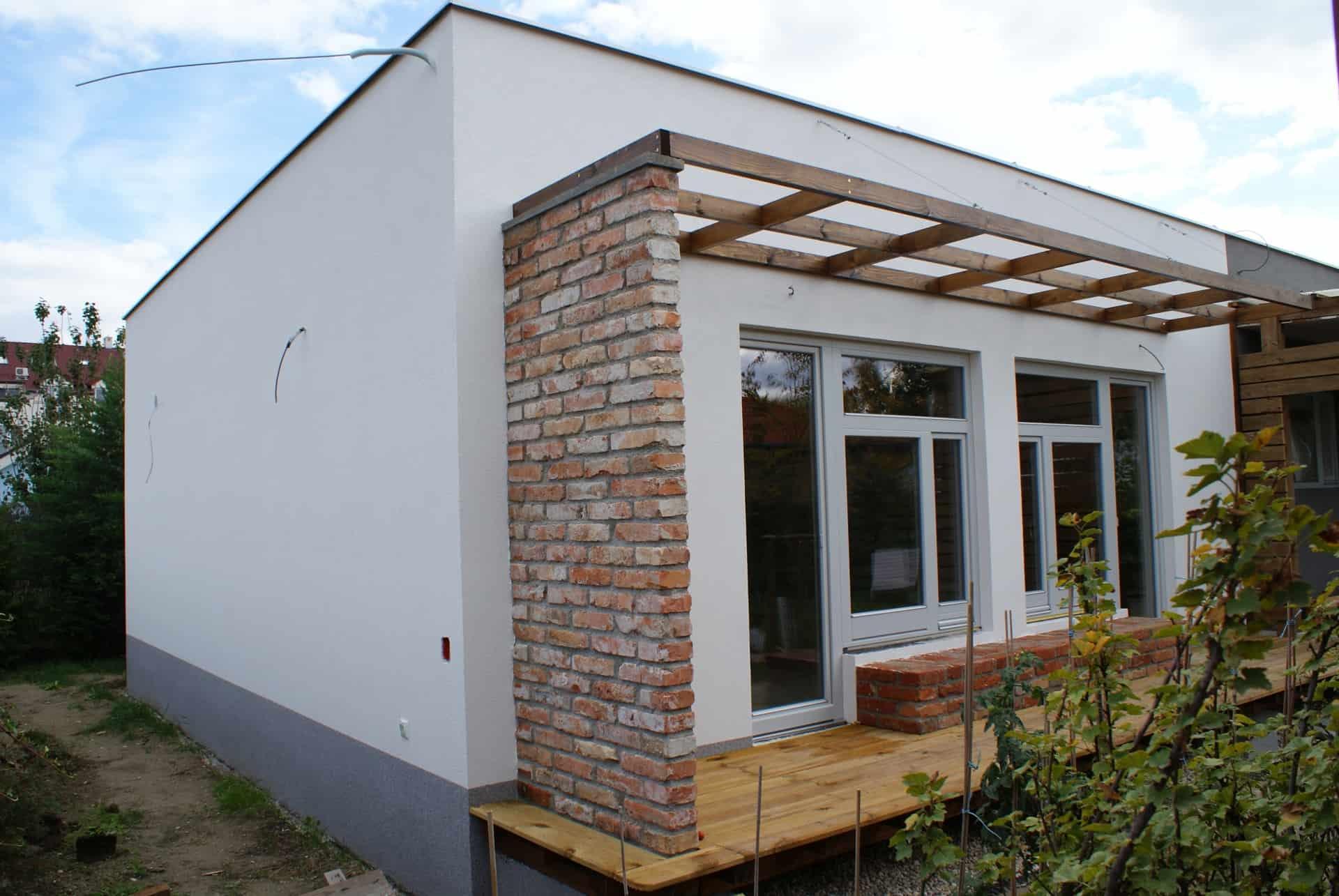 Prístavba k drevostavbe – Hamuliakovo
