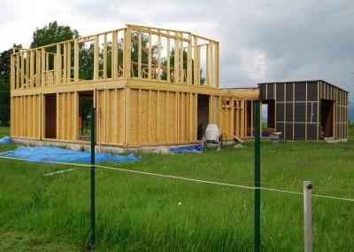 Drevostavba so stĺpikovou konštrukciou 2