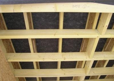 Postup stavebných prác drevodomu