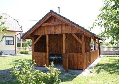 Hotový drevená chatka