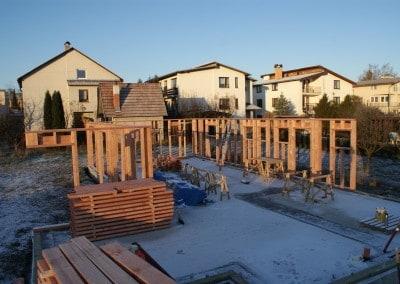 základy drevostavby