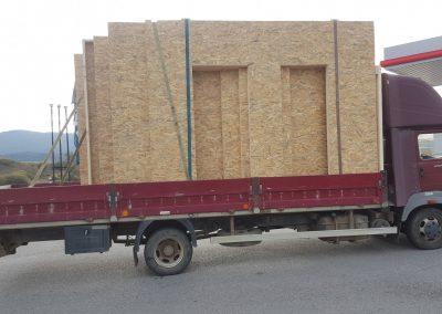 preprava dovoz ľahkého skeletu