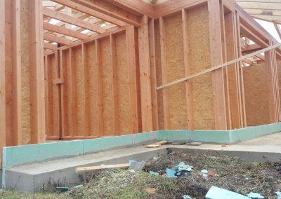 Konštrukcia rámovej drevostavby