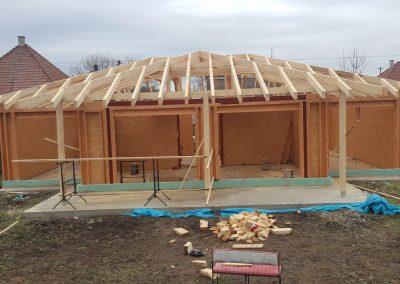 konštrukcia - rámová drevostavba